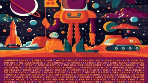 Sasquatch Music Festival Announces 2015 Lineup