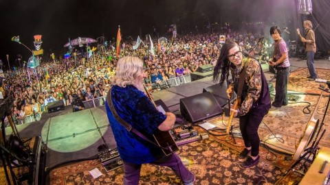 Skrillex Sits-In With The String Cheese Incident At Electric Forest