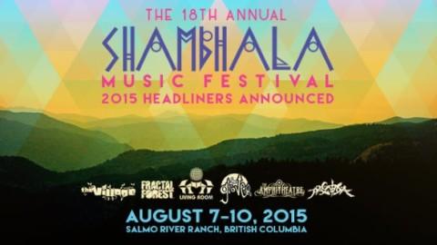 Shambhala Music Festival 2015 Headliners Announcement