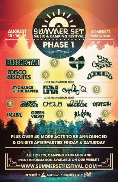 Summer Set Announces First Phase Of 2014 Lineup