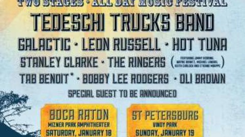 Sunshine Music And Blues Festival | Tedeschi Trucks Band