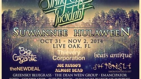 Suwannee Hulaween Organizers Announce Artist Additions
