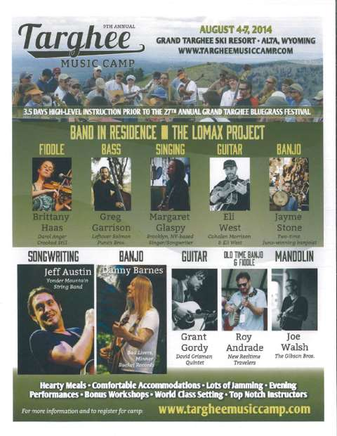 Targhee Music Camp   Learn From Jeff Austin & Others