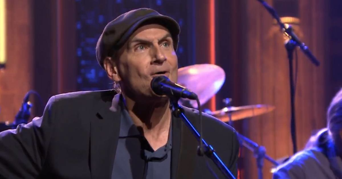 DVR Rewind | James Taylor On The Tonight Show