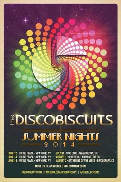 Disco Biscuits Announce Summer Nights 2014 Run