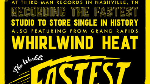 Jack White to Record & Release World's Fastest Record