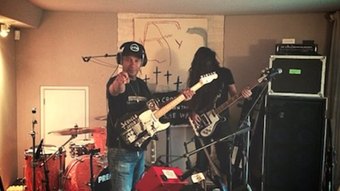 Rage Against The Machine Guitarist Recording With Bassnectar