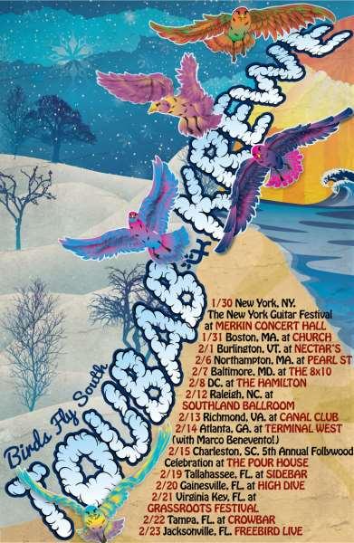Tour Dates | Toubab Krewe Birds Fly South Winter Tour