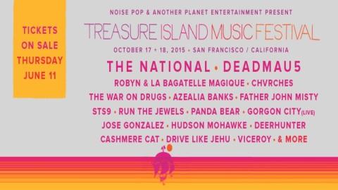 Treasure Island 2015 | Deadmau5