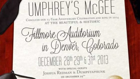 Umphrey's McGee To Welcome Dumpstaphunk And Joshua Redman On December 29