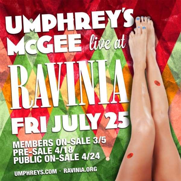 Umphrey's McGee To Make Ravinia Debut This Summer
