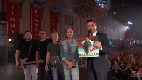 DVR Rewind   Van Halen On Jimmy Kimmel Live