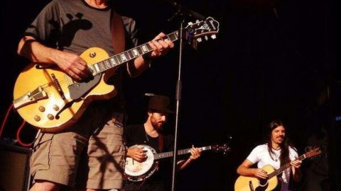 Bob Weir Guests With The Avett Brothers At Mountain Jam