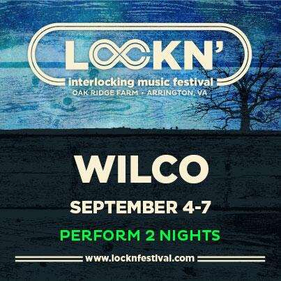 Wilco To Play Two Nights At Lockn' Festival