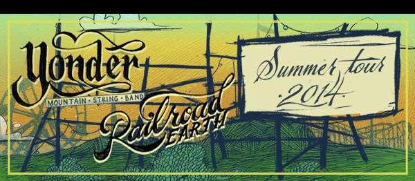 Tour Dates   Yonder Mountain String Band & Railroad Earth