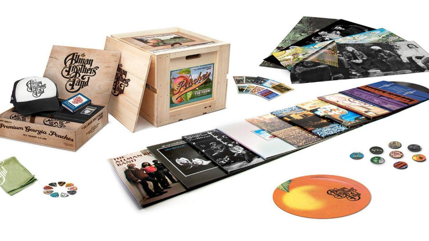 Nine Remastered Allman Brothers Band Albums Coming To Vinyl