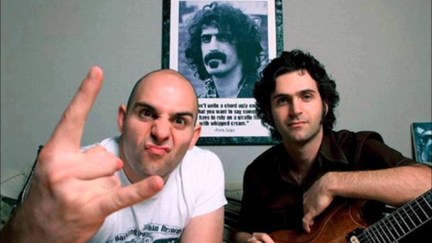 Resultado de imagen de hologram Frank Zappa