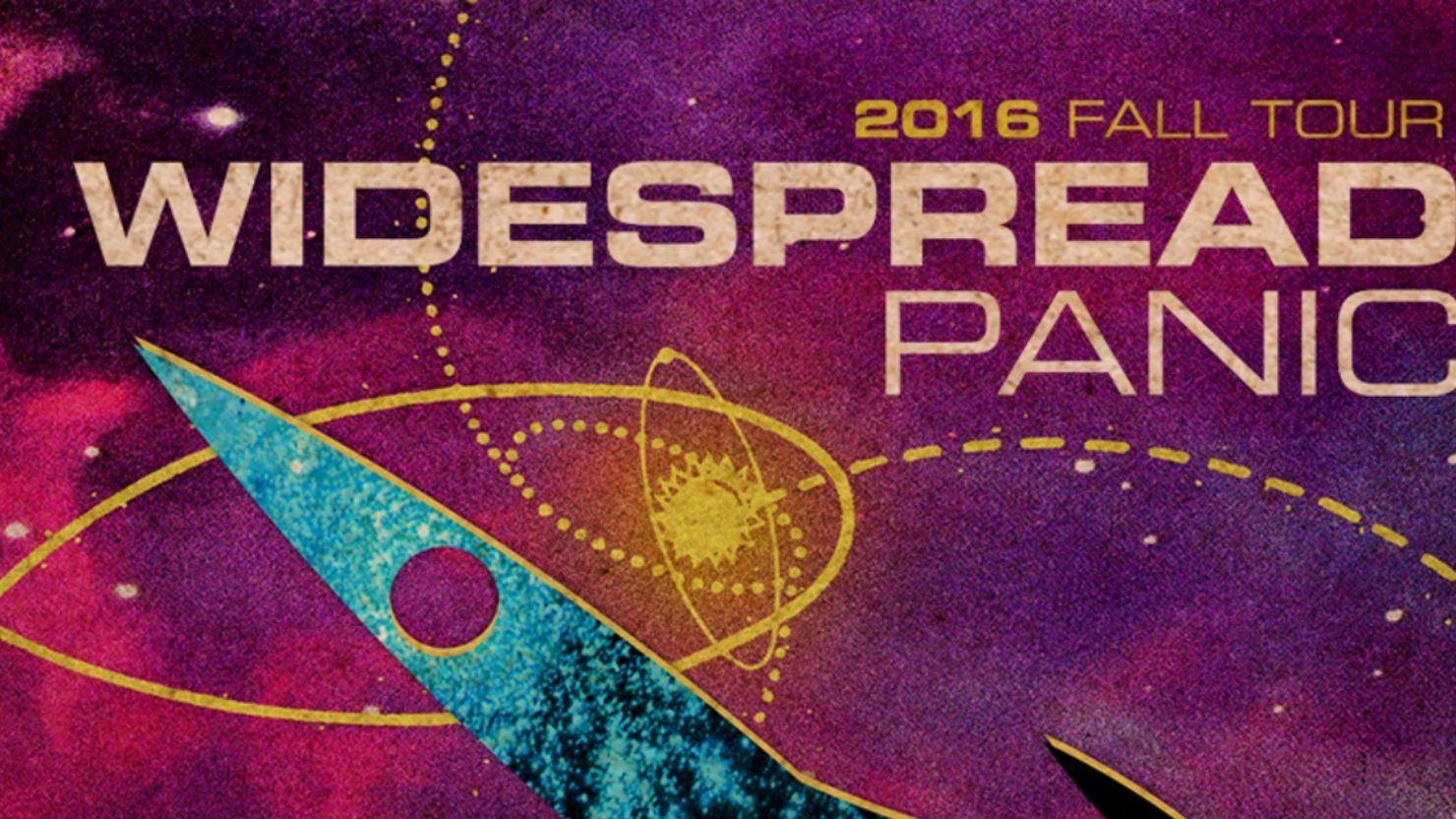 Widespread Panic 2016 Tour Dates