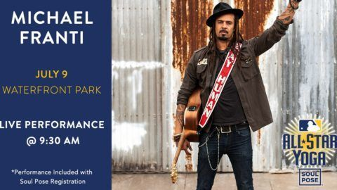Michael Franti MLB Yoga