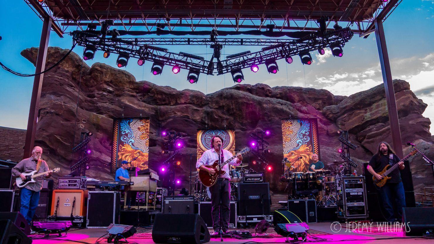 Widespread Panic Announces 2018 Red Rocks Run