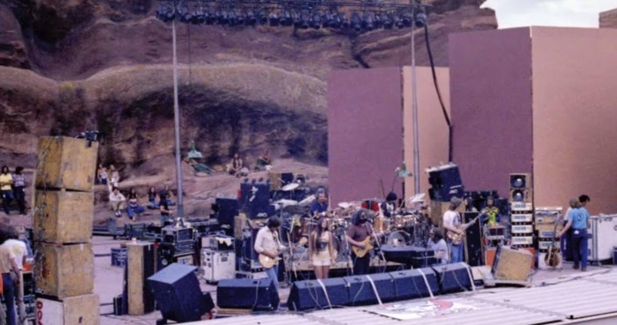 Grateful Dead Make Red Rocks Debut In 1978