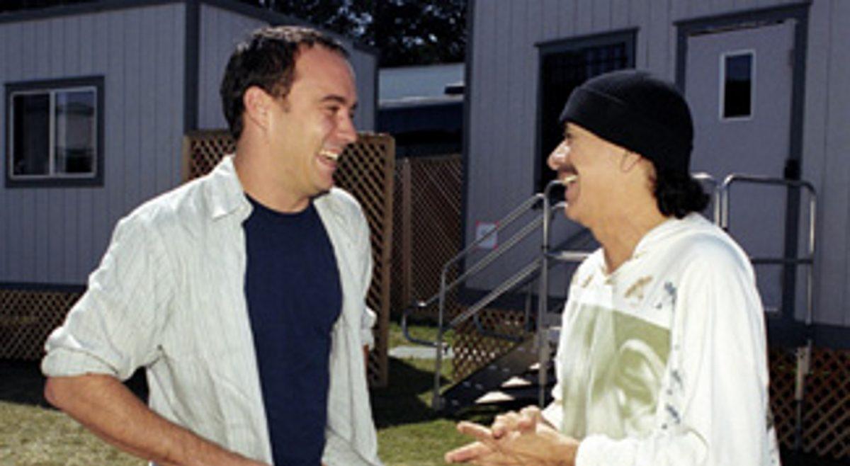 Santana and Carlos Santana