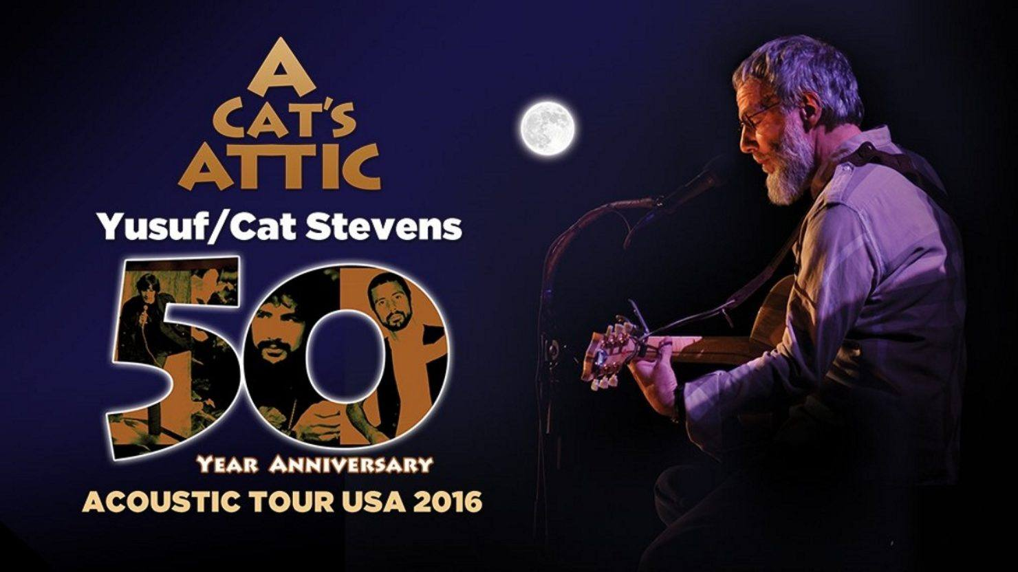 Yusuf Cat Stevens To Embark On A Cat S Attic Acoustic