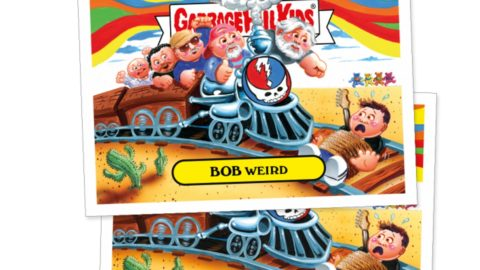 9289ef00af839c A new series of  Garbage Pail Kids  trading cards stickers parody members  of Dead   Company and many other musicians.