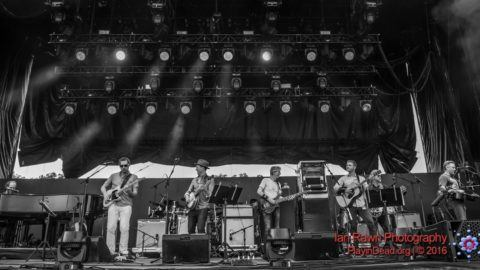 """Watch Phil Lesh & Friends featuring members of Phish and The Infamous  Stringdusters perform """"Dire Wolf"""" at last August's Lockn' Festival."""