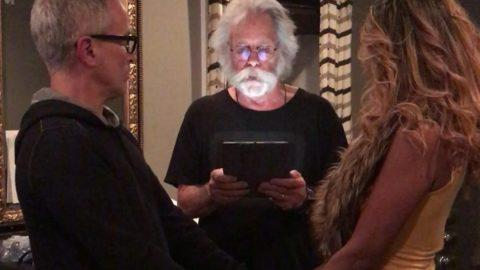 Bob Weir Welcomes Tom Hamilton Joe Russo And Officiates Wedding In