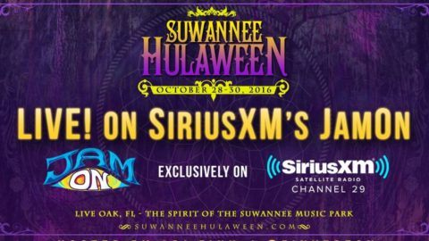 SiriusXM JamON To Broadcast Live From Suwannee Hulaween 2016 - Utter ... b85d5cf7a