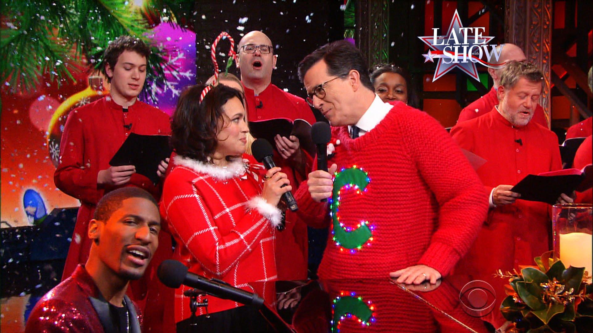 Norah Jones Teams With Stephen Colbert For Terrible Christmas Song