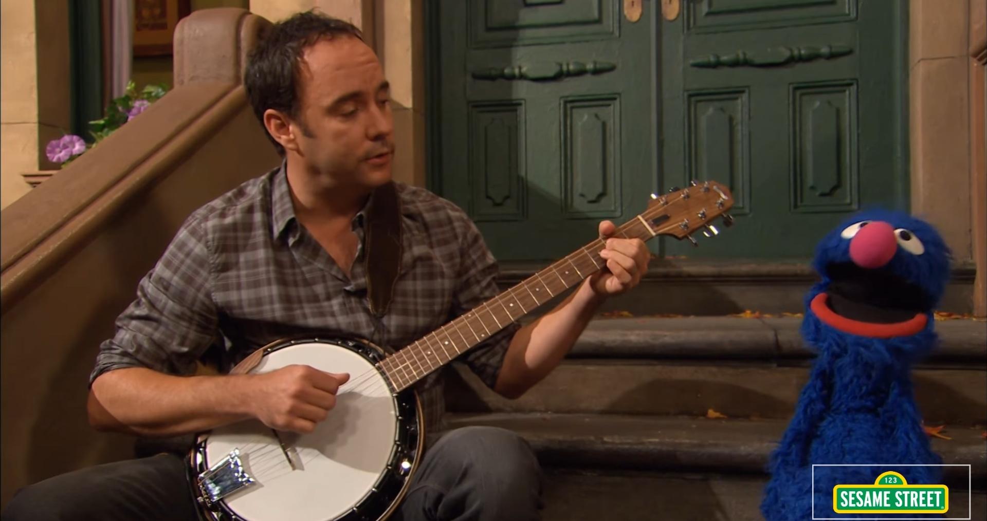 ¿Tenéis algún cantante o grupo favorito? Dave-Matthews-Sesame-Street-Screengrab-Crop
