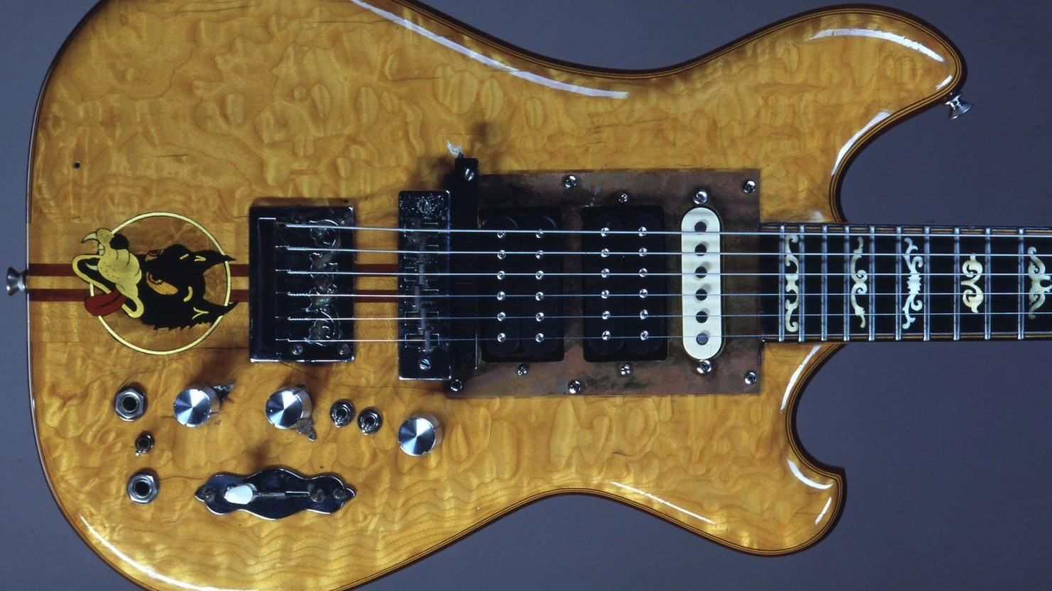[UPDATED] Iconic Jerry Garcia Wolf Guitar To Be Auctioned ...