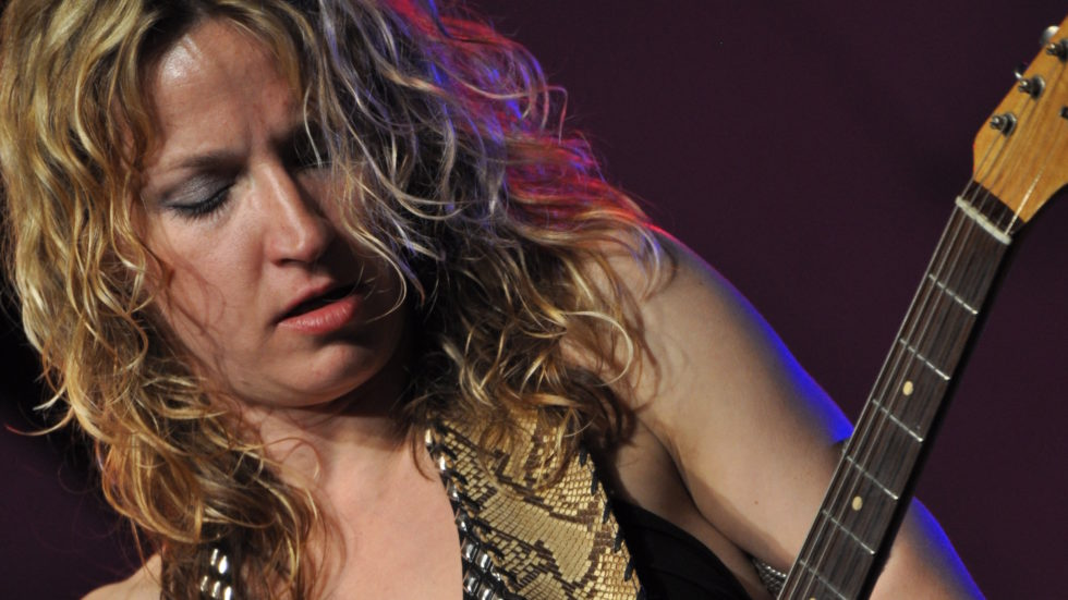 Ana Popovic and Michael Lee
