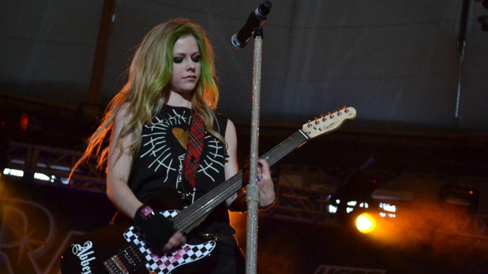 Avril Lavigne and Jagwar Twin