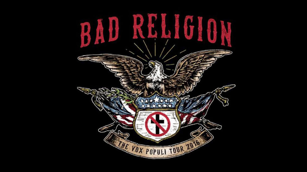 Bad Religion and The Lawrence Arms