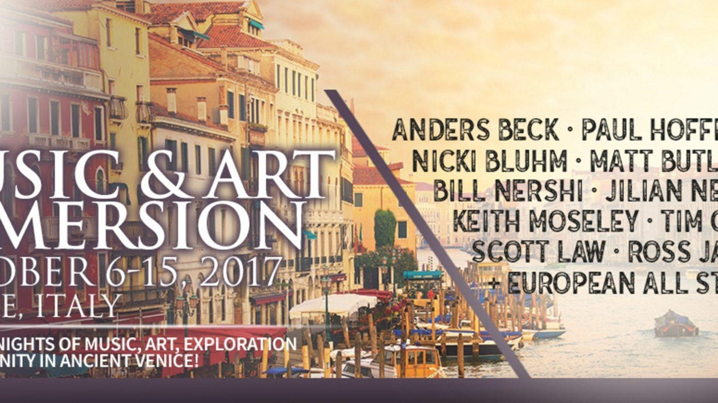 Ige announces venice music art immersion 2017 lineup for Ross craft show 2017