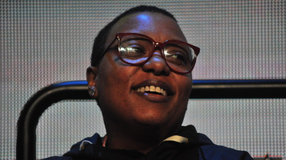 Meshell Ndegeocello and Hanna Benn