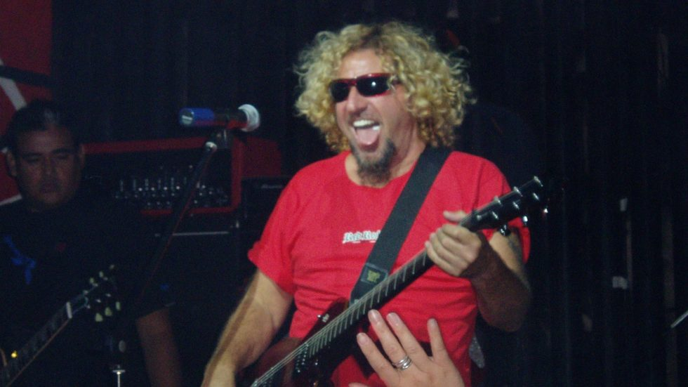 Sammy Hagar and Jason Bonham