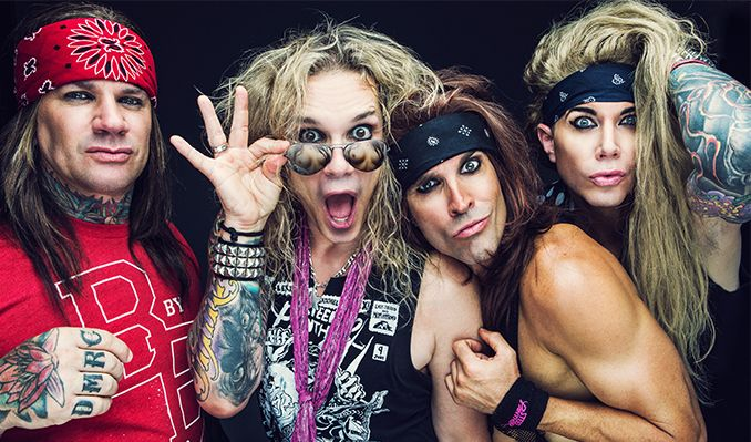 Steel Panther and Wilson