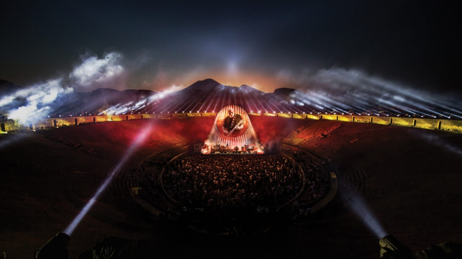 [UPDATED] David Gilmour's 'Live At Pompeii' Concert Film ...