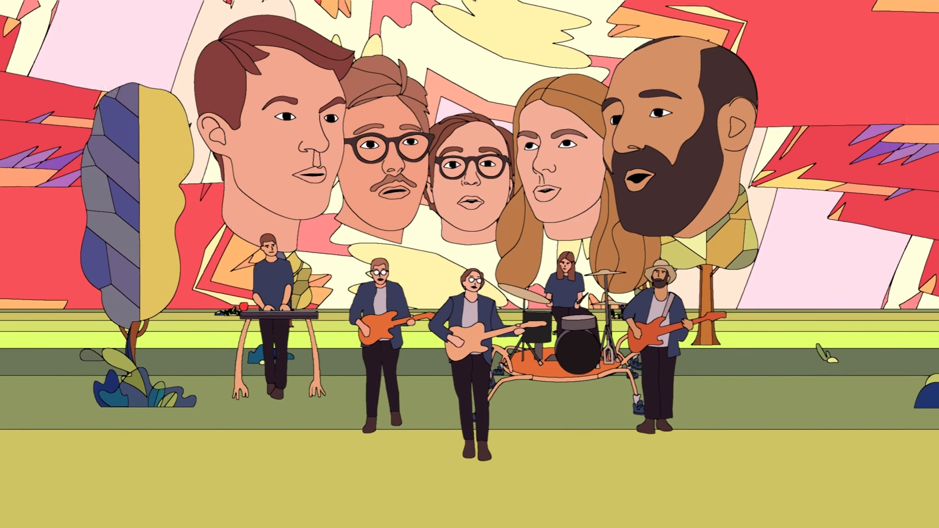 Image result for Real Estate Band Habibi June 14