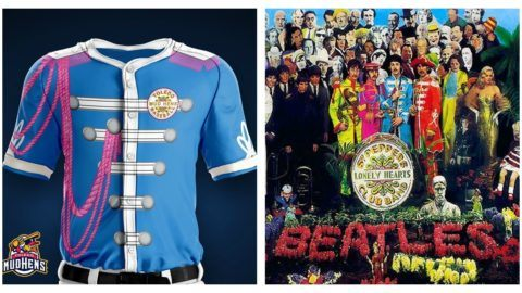 f9235d7269 Toledo Mud Hens Share  Sgt. Peppers -Themed Jerseys Ahead Of Beatles Night