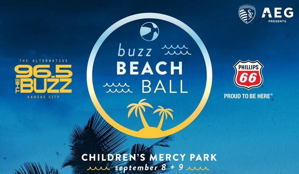 Buzz Beach Ball - Sep 8 - 9, 2017 - Kansas City, KS