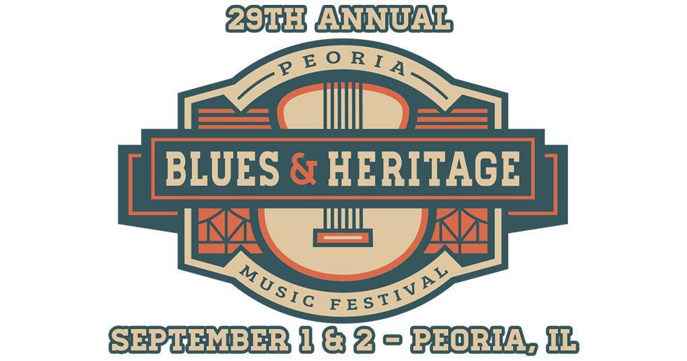 Peoria Blues Heritage Music Festival Sep 1 2 2017 Peoria Il