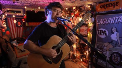 aed36df47d0af Watch one-man band Keller Williams perform three originals for the  Jam In  The Van  video series.