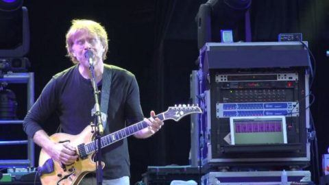 The Trey Cam: Anastasio Shines On 'Scarlet – Fire' At 'Fare Thee Well' On  This Date In 2015