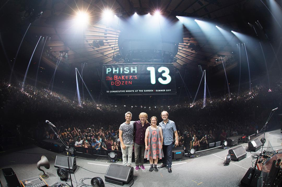 The Number Line: Phish Bakeru0027s Dozen Residency By The Numbers