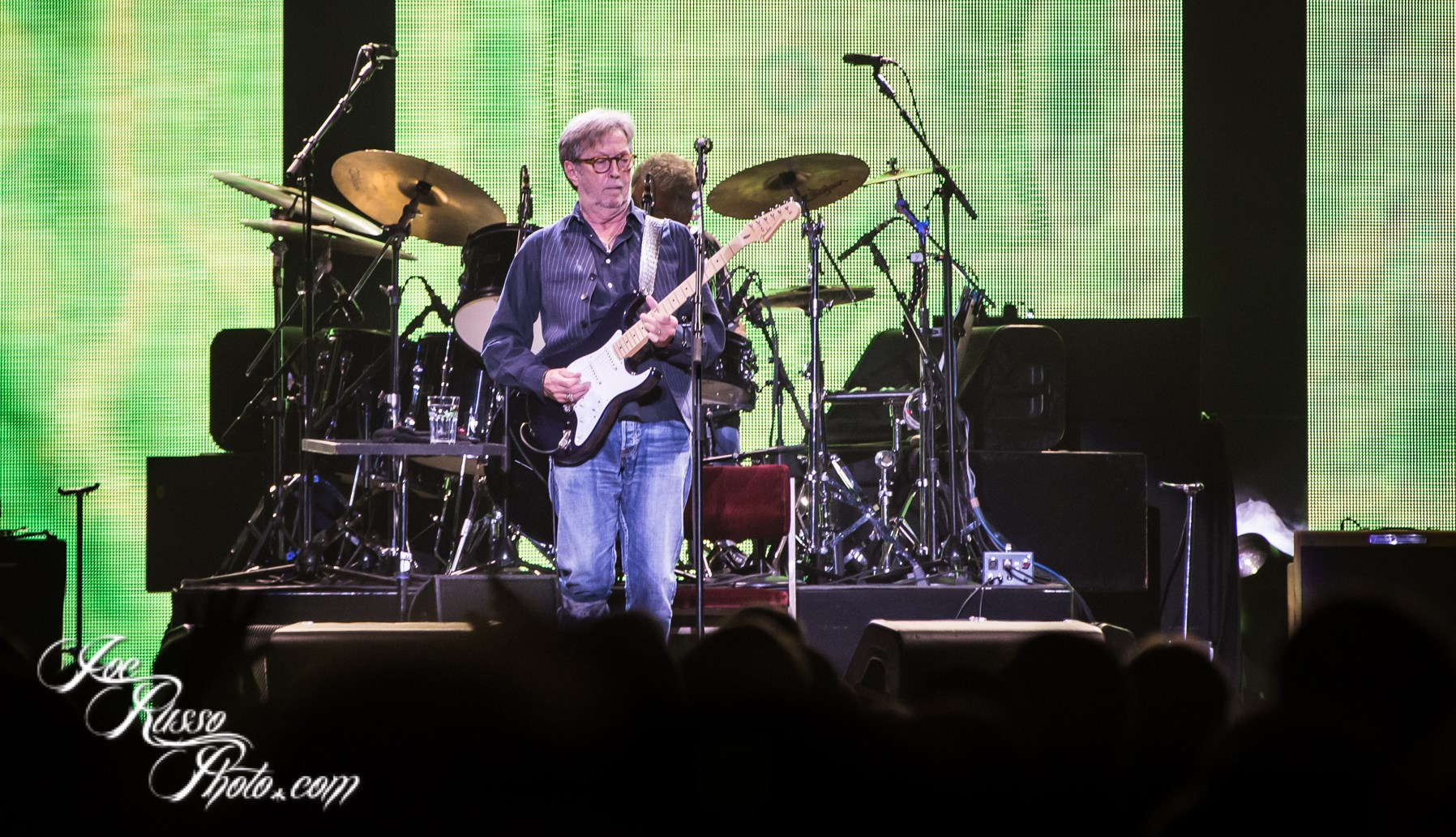 Eric Clapton Welcomes Gary Clark Jr Jimmie Vaughan At Madison Square Garden